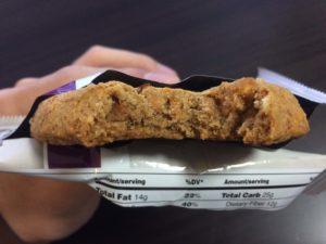 Quest プロテインクッキー 断面