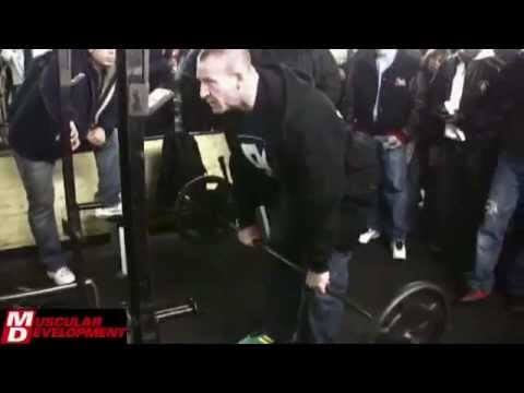 Dorian Yates, barbell row