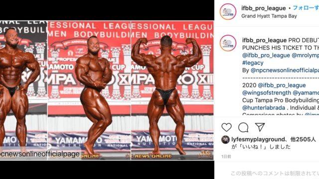 Hunter Lablada タンパプロ優勝