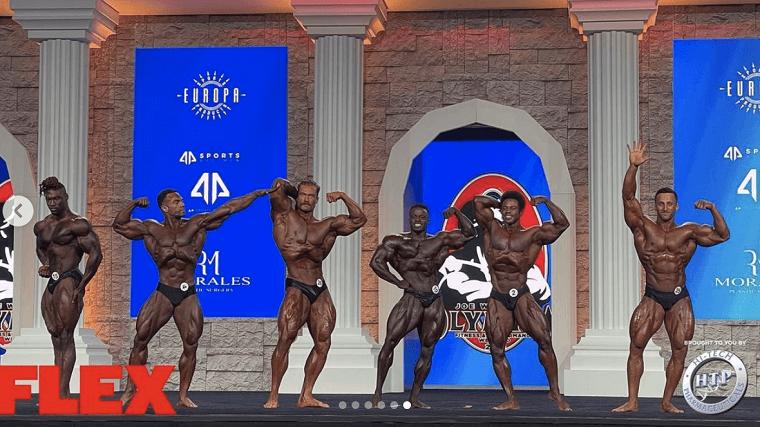 オリンピア 2020 クラシックフィジーク 結果