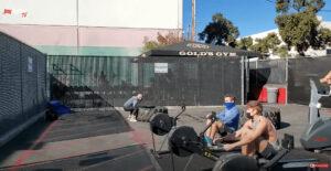 ゴールドジム ベニス 屋外トレーニングエリア 5