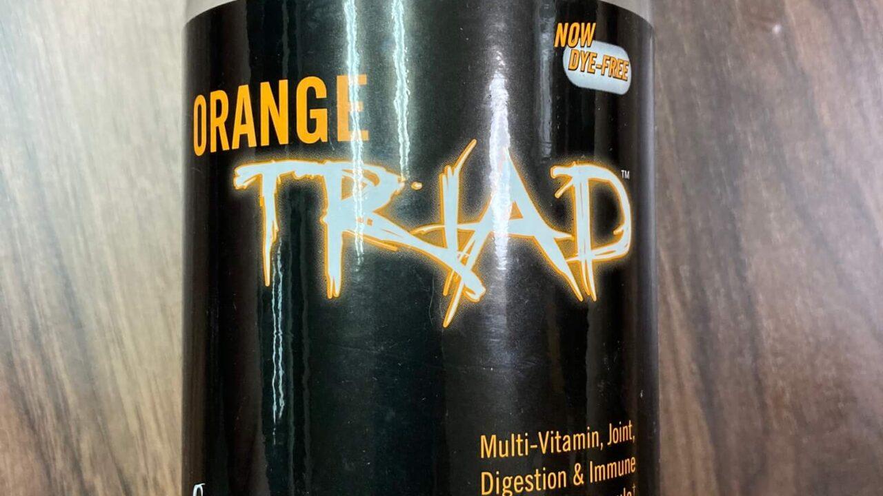Controlled Labs オレンジトライアド