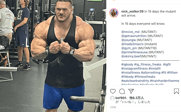 Nick Walker 2021